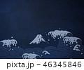 和紙の風合いを感じる日本画 46345846
