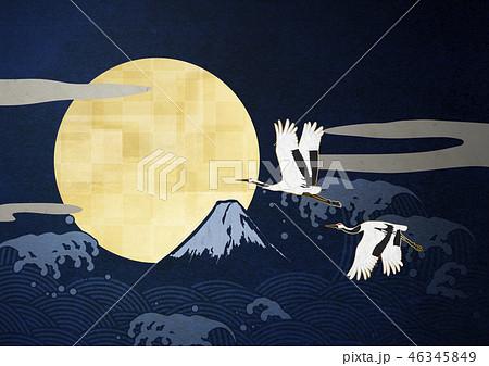 和紙の風合いを感じる日本画 46345849