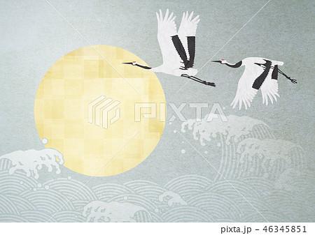 和紙の風合いを感じる日本画 46345851