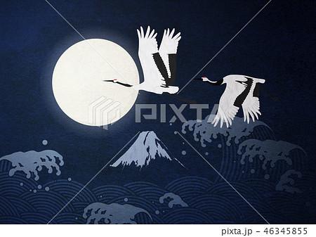 和紙の風合いを感じる日本画 46345855