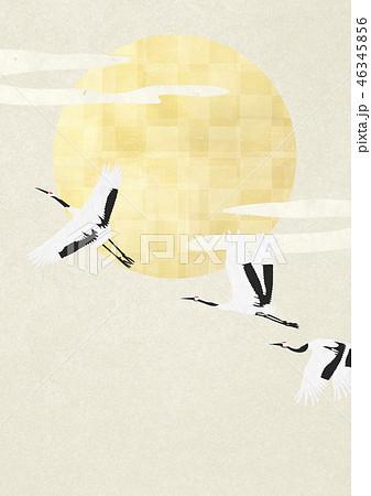 和紙の風合いを感じる日本画 46345856