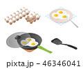 たまご 卵 玉子のイラスト 46346041