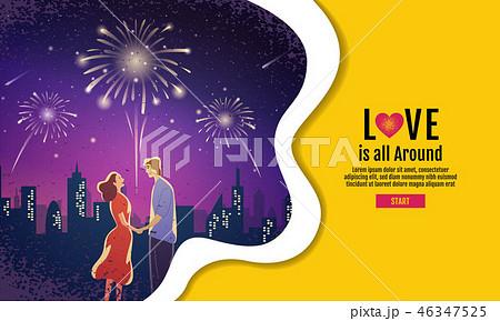Lovely couple ,Valentine's day ,festival 46347525