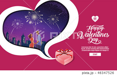 Lovely couple ,Valentine's day ,festival 46347526