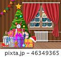 クリスマス プレゼント 贈り物のイラスト 46349365
