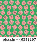パターン 背景 柄のイラスト 46351197