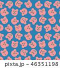 パターン 背景 柄のイラスト 46351198