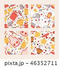 調理 シームレス パターンのイラスト 46352711