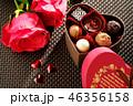 バレンタイン・チョコレートのギフトボックス 46356158