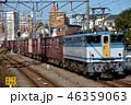 晴れ 機関車 列車の写真 46359063