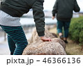 公園で遊ぶ子供たち 46366136