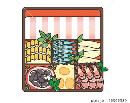 おせち料理 osechi_ryori traditional New Year's dish 46366589