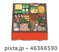おせち料理 おせち 正月のイラスト 46366590