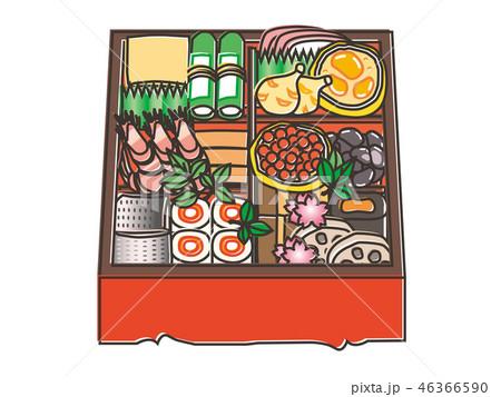おせち料理 osechi_ryori Japanese New Year foods  46366590