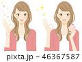 コスメ 香水 アドバイスをする女性 いい香り 46367587