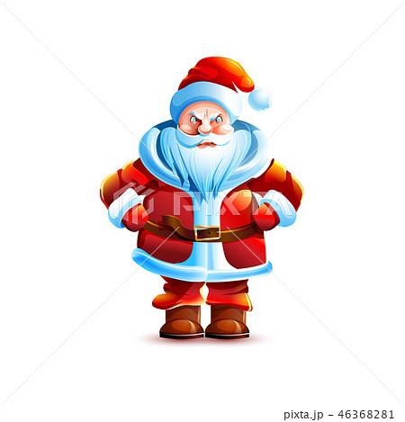 Illustration isolated character santa 46368281