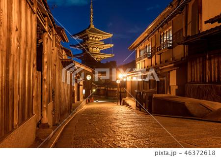 【京都府】京都の夜 46372618
