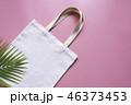 トートバック 袋 ホワイトの写真 46373453