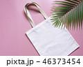 トートバック 袋 ホワイトの写真 46373454