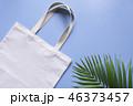 トートバック 袋 ホワイトの写真 46373457