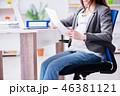 オフィス 妊娠 妊婦の写真 46381121