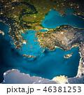 トルコ ギリシア ギリシャのイラスト 46381253