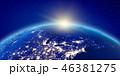 アメリカ カナダ あかりのイラスト 46381275