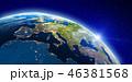 ヨーロッパ 欧州 地球のイラスト 46381568