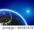 地球 スペース 空間のイラスト 46381579