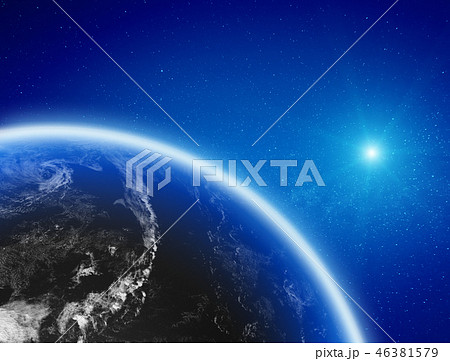 Earth from space 46381579