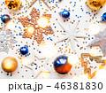クリスマス 新年 平面図の写真 46381830