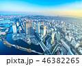 街並み 都市風景 高層ビルの写真 46382265