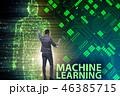人工知能 AI ビジネスの写真 46385715