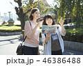 観光 友達 外国人の写真 46386488