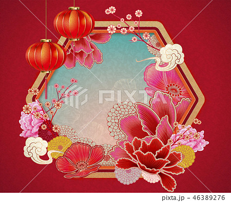 Traditional chinese background 46389276