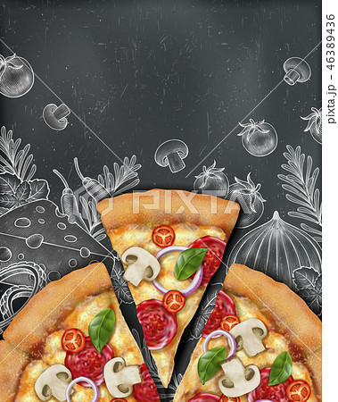 Pizza poster ads 46389436