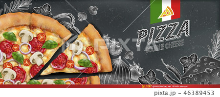 Pizza banner ads 46389453