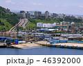 済州島 済州港 埠頭の写真 46392000