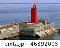 済州島 灯台 済州港の写真 46392005