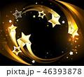 金 黄金 金色のイラスト 46393878