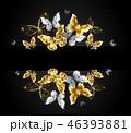 金 黄金 金色のイラスト 46393881