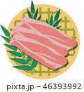肉 生肉 豚肉のイラスト 46393992