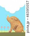 猪 亥 亥年のイラスト 46395057