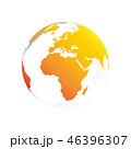 地球 地図 ベクタのイラスト 46396307