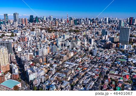 《東京都》東京都市風景・都心全景 46401067