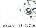 注射器 バイアル 聴診器の写真 46401719