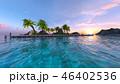 南国 夏 リゾートのイラスト 46402536