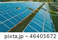 Aerial view of solar energy panels, solar panels, Solar power plants. 46405672
