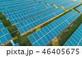 Aerial view of solar energy panels, solar panels, Solar power plants. 46405675