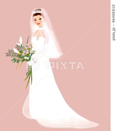 花嫁 ウエディングドレス 46406910